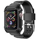 voordelige Apple Watch-bandjes-Horlogeband voor Apple Watch Series 4 Apple Sportband Silicone Polsband