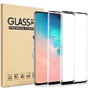 Недорогие Защитные плёнки для экранов Samsung-2шт 9h закаленное стекло-экран протектор для samsung galaxy s10 / s10 plus / s10e / s9 plus / s9 / s8 plus / s8