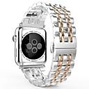 voordelige Apple Watch-bandjes-Horlogeband voor Apple Watch Series 4/3/2/1 Apple Sieradenontwerp Roestvrij staal Polsband