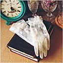 رخيصةأون فرشاة اليد و ممسحة-دانتيل طول المعصم قفاز دانتيل مع الديكورات