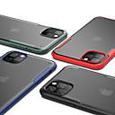 رخيصةأون أغطية أيفون-غطاء من أجل Apple اي فون 11 / iPhone 11 Pro / iPhone 11 Pro Max ضد الصدمات / شبه شفّاف غطاء خلفي لون سادة TPU / الكمبيوتر الشخصي