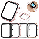 voordelige iPhone 6s / 6 Plus screenprotectors-all-inclusive beschermhoes van gehard glasfolie voor Apple Watch 40 mm / 44 mm / 38 mm / 42 mm metalen frame voor Apple Watch-serie 4/3/2/1