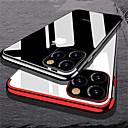 رخيصةأون أغطية أيفون-غطاء من أجل Apple اي فون 11 / iPhone 11 Pro / iPhone 11 Pro Max تصفيح غطاء خلفي شفاف TPU