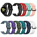 cheap Smartwatch Screen Protectors-Watch Band for Samsung Galaxy Watch Active 2 40MM/44MM Samsung Galaxy Sport Band / Classic Buckle Silicone Wrist Strap