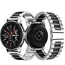 voordelige Smartwatch-accessoires-metalen roestvrijstalen horlogeband polsband voor Samsung Galaxy horloge 46 mm / versnelling s3 classic / frontier armband vervangbare polsband