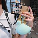 رخيصةأون حافظات / جرابات هواتف جالكسي S-غطاء من أجل Samsung Galaxy S9 / S9 Plus / S8 Plus محفظة / بريق لماع غطاء خلفي حيوان / بريق لماع TPU