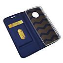 povoljno Maske/futrole za Motorolu-Θήκη Za Motorola MOTO G6 / Moto G6 Plus Utor za kartice / S magnetom / Auto Sleep / Wake Up Korice Jednobojni PU koža / TPU