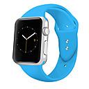 povoljno Apple Watch remeni-traka za satove za jabuke sat serije 4/3/2/1 jabuka klasična kopča silikonski remen za ručne zglobove