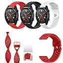 voordelige Horlogebanden voor Huawei-sport siliconen horlogeband polsband voor huawei horloge 2 pro / horloge gt / honor magische armband vervangbare polsband