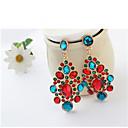 povoljno Modne ogrlice-Žene Kubični Zirconia Viseće naušnice Klasičan Csillag Boho Pozlaćeni Naušnice Jewelry Duga Za Party 1 par