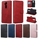 رخيصةأون Nokia أغطية / كفرات-القضية لنوكيا 9 pureview 7.1 حالة الهاتف بو الجلود المواد الصلبة نمط اللون حالة الهاتف لنوكيا x7 4.2 3.2 1plus