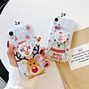 povoljno iPhone maske-Θήκη Za Apple iPhone 11 / iPhone 11 Pro / iPhone 11 Pro Max sa stalkom / Uzorak / Šljokice Stražnja maska Crtani film / Božić TPU