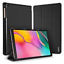 voordelige Samsung-hoes voor tablets-hoesje Voor Samsung-tablets Samsung Tab A 10.1 (2019) T510 / Galaxy Tab S6 Schokbestendig / met standaard Volledig hoesje Effen PU-nahka / PC