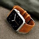 voordelige Apple Watch-bandjes-Horlogeband voor Apple Watch Series 4/3/2/1 Apple Sportband Echt leer Polsband