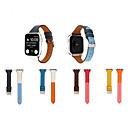 رخيصةأون ملصقات ديكور-أزياء والجلود watchband لتفاح حزام سلسلة سلسلة 5/4/3/2/1 سوار الرياضة ل iwatch 40 ملليمتر 44 ملليمتر 42 ملليمتر 38 ملليمتر حزام