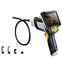 abordables Bandes Lumineuses LED-endoscope industriel numérique 4,3 pouces lcd vidéoscope endoscope avec cmos capteur endoscope semi-rigide caméra caméra de poche