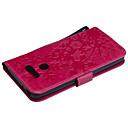 رخيصةأون LG أغطية / كفرات-غطاء من أجل LG LG V30 / LG K10 / LG K8 حامل البطاقات غطاء كامل للجسم نموذج هندسي جلد PU / الكمبيوتر الشخصي