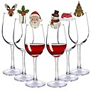 cheap Home Decoration-Holiday Decorations Christmas Decorations Christmas / Christmas Ornaments / Decorative Objects Cartoon / Party / Decorative Random Color 20pcs