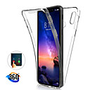 رخيصةأون Xiaomi أغطية / كفرات-حالة 360 درجة لكامل الجسم ل xiaomi mi 9t pro mi 9 se mi 8 lite f1 a2 mi 6x case شفاف pc gel thin gel tpu soft cover for redmi k20 pro note 7 note 6 pro note 5 pro 6a 6 pro 5 plus