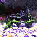 رخيصةأون زينة حوض السمك-حوض سمك ديكور حوض السمك حجر الصخور حوض سمك الزخارف الصخور الحجارة غير سام و بدون طعم راتينج 1 قطعة