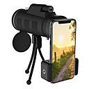 ieftine Stick Tripod Selfie-lentilă telefon 40x60 zoom monocular telescop portabil camera camping drumeție lentilă de pescuit cu busolă telefon trepied clip
