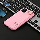 رخيصةأون وشم مؤقت-غطاء من أجل Apple اي فون 11 / iPhone 11 Pro / iPhone 11 Pro Max شبه شفّاف غطاء خلفي لون سادة TPU