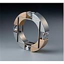 preiswerte Ringe Herren-Herrn Ring Kubikzirkonia 1pc Gold Kupfer Geometrische Form Modisch Verlobung Alltag Schmuck Geometrisch Gesegnet Cool