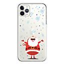 voordelige iPhone-hoesjes-vrolijk kerst TPU-hoesje voor Apple iPhone 11 / iPhone 11 Pro / iPhone 11 Pro Max Achterkant Cover