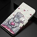 voordelige Galaxy S7 Hoesjes / covers-hoesje Voor Samsung Galaxy S9 / S9 Plus / S8 Plus Portemonnee / Kaarthouder / met standaard Volledig hoesje Panda PU-nahka