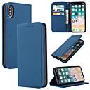 رخيصةأون أغطية أيفون-غطاء من أجل Apple اي فون 11 / iPhone 11 Pro / iPhone 11 Pro Max حامل البطاقات غطاء كامل للجسم لون سادة جلد أصلي