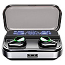 cheap Earrings-LITBest T10 TWS True Wireless Earbuds 2600mAh Mobile Power LED Display for Smartphone Bluetooth 5.0 Stereo Touch Control Earphones IPX7 Waterproof Sports Fitness Headset