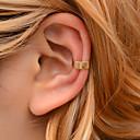 ieftine Cercei-Pentru femei Cătușe pentru urechi ID Nod Funda cercei Bijuterii Auriu / Argintiu Pentru Festival