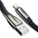 ieftine Huburi & switch-uri USB-3a Cablu USB de încărcare rapidă pentru iPhone x 8 7 6 6s plus xs max xr ipad 1m lungă sârmă autentică încărcător de telefon mobil