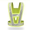 povoljno Boks-prekrivač visoke vidljivosti zaštitni prsluk reflektirajuća prometna odjeća fluorescentna radna odjeća za rad v-tipa
