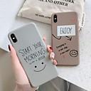 رخيصةأون أغطية أيفون-غطاء من أجل Apple اي فون 11 / iPhone 11 Pro / iPhone 11 Pro Max ضد الغبار غطاء خلفي جملة / كلمة / كارتون TPU