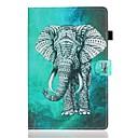 رخيصةأون أغطية-غطاء من أجل Apple iPad Air / iPad 4/3/2 / iPad (2018) حامل البطاقات / مع حامل / نموذج غطاء كامل للجسم حيوان جلد PU