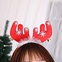 رخيصةأون تزيين المنزل-2 قطع عيد الميلاد الغزلان عقال عيد الميلاد اكسسوارات للشعر الأذن رئيس التصوير الملحقات الكبار امرأة عالمية