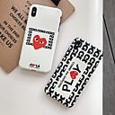 voordelige iPhone-hoesjes-hoesje Voor Apple iPhone 11 / iPhone 11 Pro / iPhone 11 Pro Max IMD / Mat / Patroon Achterkant Woord / tekst TPU / PC