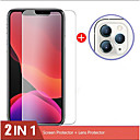 voordelige iPhone 11 Pro screenprotectors-2lin1 cameraglas voor iPhone 11 pro max screen protector lensglas voor iphone x xs max xr 7 8 6 6s plus beschermglas