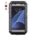 voordelige Galaxy S7 Hoesjes / covers-hoesje Voor Samsung Galaxy S8 Plus / S8 / S7 edge Schokbestendig / Waterbestendig Volledig hoesje dier Hard Metaal