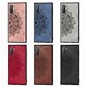 رخيصةأون أغطية-غطاء من أجل Samsung Galaxy S9 Plus / Galaxy S10 Plus / Galaxy Note 10 Plus ضد الصدمات / مطرز / نموذج غطاء خلفي زهور TPU / قماش اكسفورد / الكمبيوتر الشخصي