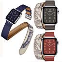 voordelige Apple Watch-bandjes-horlogeband voor Apple Watch-serie 5/4/3/2/1 Apple Classic gesp lederen band