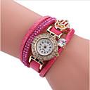 ieftine Coliere Choker-Pentru femei ceasul cu ceas Quartz Piele Model nou Ceas Casual Analog Casual