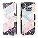 voordelige Galaxy S-serie hoesjes / covers-hoesje Voor Samsung Galaxy S9 / S9 Plus / Galaxy S10 Portemonnee / Kaarthouder / Schokbestendig Volledig hoesje Geometrisch patroon PU-nahka