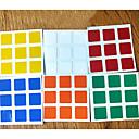 ieftine Cuburi Magice-6pcs autocolante durabile stabilite pentru cub magie 3x3x3