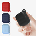 cheap iPhone XR Screen Protectors-Applicable Apple Airpods Protective Cover Wireless 2 Generation Bluetooth Headset Shatter-Resistant Silicone Protective Cover 1Pc
