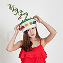 halpa Puukoristeet-1kpl muhkeat kevytlakit jouluhattu aikuisten koriste hattu