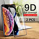 voordelige iPhone 11 Screenprotectors-2 stks 9d gehard glas volledig scherm beschermer voor iPhone 11/11 pro / 11 pro max / xs max / xr / xs / x