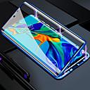 abordables Etuis / Couvertures pour Huawei-étui de téléphone magnétique en verre métal double face pour huawei p30 p30 lite p20 p20 pro p20 lite maté 20 compagnon 20 lite honneur 8x 9x 9x pro 20 20 pro