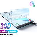 Недорогие Защитные плёнки для экранов Samsung-гидрогелевая пленка для samsung galaxy note 10 плюс защитная пленка для экрана note10 plus для samsung note 10 plus note10 не стеклянная защита